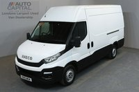 USED 2015 15 IVECO-FORD DAILY 2.3 35S13V 126 BHP L2 H3 MWB HIGH ROOF ONE OWNER FROM NEW, SERVICE HISTORY