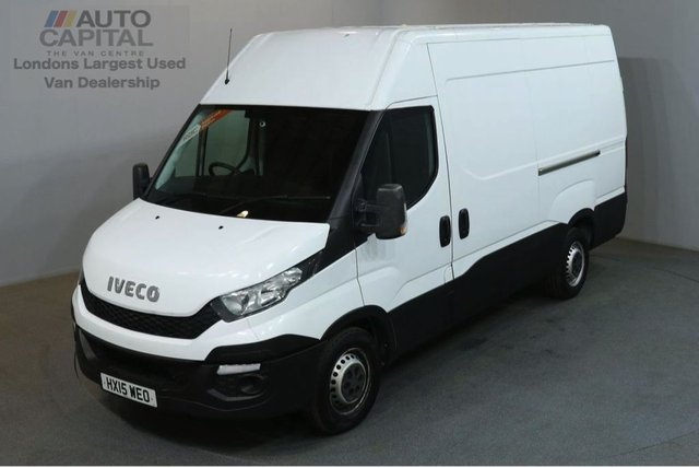 2015 15 IVECO-FORD DAILY 2.3 35S13V 126 BHP L2 MWB H/ROOF PANEL VAN ONE OWNER SERVICE HISTORY