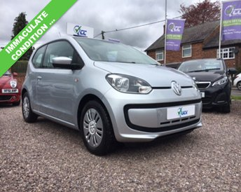 2012 VOLKSWAGEN UP 1.0 MOVE UP BLUEMOTION TECHNOLOGY 3d 59 BHP £6495.00