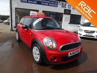 USED 2013 63 MINI HATCH ONE 1.6 ONE 3d 98 BHP