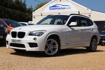 2012 BMW X1 2.0 SDRIVE18D M SPORT 5d 141 BHP £10450.00