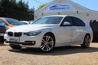 2014 BMW 3 SERIES 2.0 318D SPORT 4d 141 BHP £11950.00
