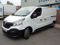 USED 2016 16 RENAULT TRAFIC 1.6 LL29 BUSINESS DCI S/R P/V 1d 115 BHP