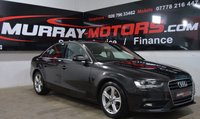 USED 2015 AUDI A4 2.0 TDI SE TECHNIK 4DOOR 134 BHP *SAT NAV* LAVA GREY