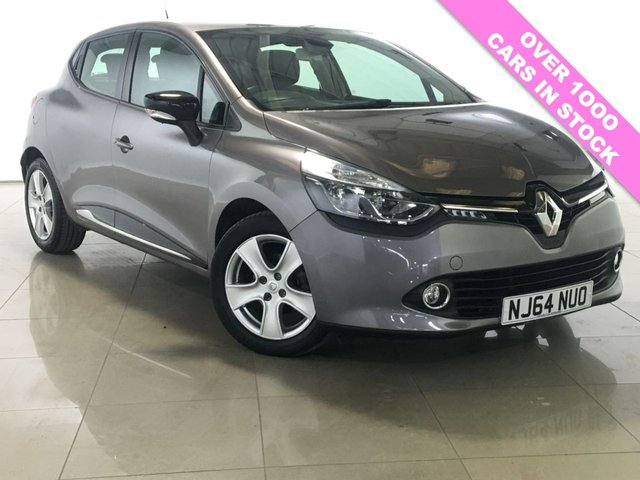 View our 2014 64 RENAULT CLIO 0.9 DYNAMIQUE MEDIANAV ENERGY TCE ECO2 S/S 5d 90 BHP