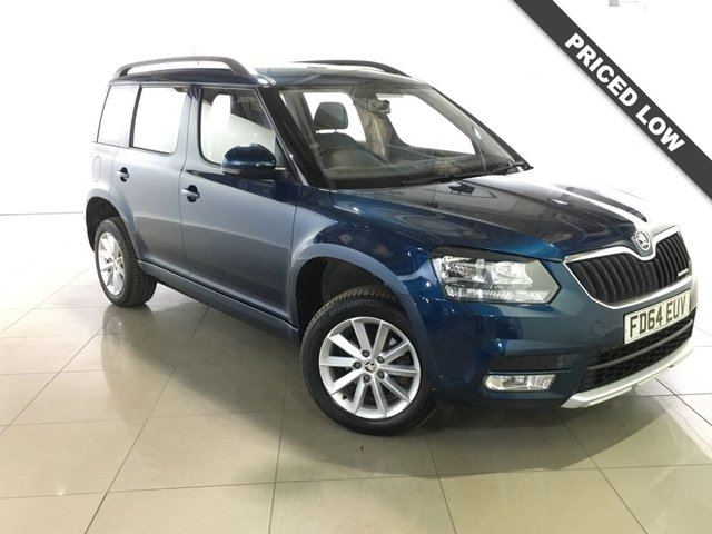 View our 2014 64 SKODA YETI 1.6 S GREENLINE II TDI CR 5d 103 BHP