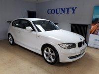 2010 BMW 1 SERIES 2.0 116I SPORT 3d 121 BHP £6795.00