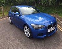 2012 BMW 1 SERIES 2.0 118D M SPORT 5d 141 BHP £10390.00