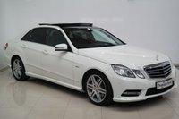 2012 MERCEDES-BENZ E CLASS 3.0 E350 CDI BLUEEFFICIENCY S/S SPORT 4d AUTO 265 BHP £13890.00