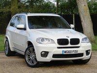 2010 BMW X5 3.0 XDRIVE30D M SPORT 5d AUTO 241 BHP 7 SEAT £18990.00