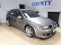 USED 2006 55 SEAT LEON 1.8 CUPRA R 20V 5d 221 BHP * TWO OWNERS WITH HISTORY **  * *  * *