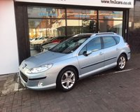 USED 2007 57 PEUGEOT 407 SW SE HDI