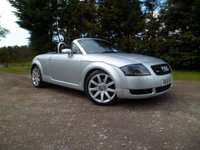 2001 AUDI TT 1.8 ROADSTER QUATTRO 2d 221 BHP £3995.00