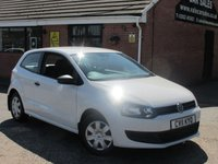2011 VOLKSWAGEN POLO 1.2 S 3dr £4990.00