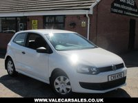 2011 VOLKSWAGEN POLO 1.2 S 3dr £4490.00