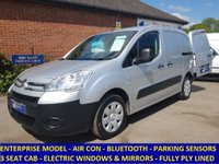 2012 CITROEN BERLINGO ENTERPRISE L1 WITH AIR-CON, 3 SEATS & FULL ELECTRIC PACK £5295.00