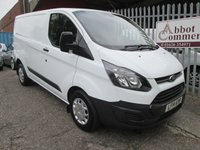 2014 FORD TRANSIT CUSTOM 290 SWB Low roof L1 H1 100 PS *BLUETOOTH + ONLY 32k* £10000.00