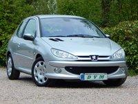 2004 PEUGEOT 206 1.4 QUIKSILVER 3d 88 BHP £1970.00