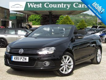 2011 VOLKSWAGEN EOS 2.0 SE TDI BLUEMOTION TECHNOLOGY 2d 139 BHP £9000.00