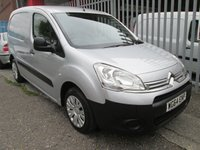 2014 CITROEN BERLINGO 625 ENTERPRISE HDi *AIR CON*3 SEAT CAB* £6500.00