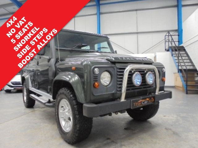 2008 57 LAND ROVER DEFENDER 2.4 110 COUNTY DCB 1d 122 BHP