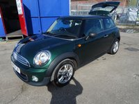 2013 MINI HATCH ONE 1.6 ONE 3d 98 BHP £4995.00
