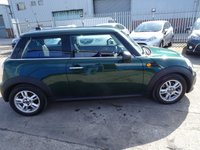 USED 2013 13 MINI HATCH ONE 1.6 ONE 3d 98 BHP