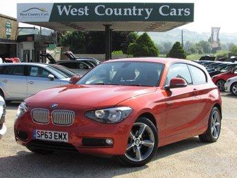 2013 BMW 1 SERIES 1.6 116I URBAN 3d AUTO 135 BHP £10800.00