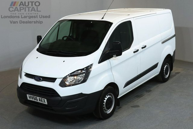 2016 66 FORD TRANSIT CUSTOM 2.2 290 99 BHP L1 H1 SWB LOW ROOF    ONE OWNER FROM NEW, SERVICE HISTORY