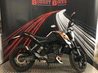 USED 2013 13 KTM DUKE 125cc 125 DUKE 13