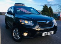 2011 HYUNDAI SANTA FE 2.2 STYLE CRDI 5 DOOR STATION WAGON  7 SEATER 4WD WITH ONLY 57,000 MILES £8495.00