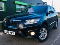 USED 2011 61 HYUNDAI SANTA FE 2.2 STYLE CRDI 5 DOOR STATION WAGON  7 SEATER 4WD WITH ONLY 57,000 MILES 7 SEATER 4WD LOW MILES
