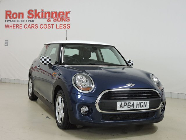 View our 2015 64 MINI HATCH ONE 1.2 ONE 3d 101 BHP with Pepper Pack