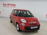 USED 2016 65 FIAT 500L 1.4 POP STAR 5d 95 BHP