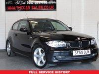 2009 BMW 1 SERIES 2.0 118D SPORT 3d 141 BHP £4198.00