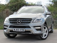 USED 2015 65 MERCEDES-BENZ M CLASS 2.1 ML250 BLUETEC AMG LINE PREMIUM 5d AUTO 201 BHP