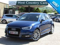 USED 2016 65 AUDI A1 1.6 SPORTBACK TDI S LINE 5d 114 BHP Great Value A1 S-Line