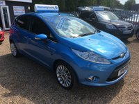 USED 2011 11 FORD FIESTA 1.6 TITANIUM TDCI 5d 94 BHP FULL MAIN DEALER SERVICE HISTORY - FINANCE AVAILABLE