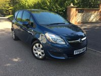 2014 VAUXHALL MERIVA 1.4 EXCLUSIV AC 5d AUTO 118 BHP PLEASE CALL TO VIEW £SOLD