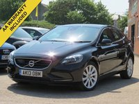 USED 2013 13 VOLVO V40 2.0 D3 SE LUX NAV 5d 148 BHP SATELLITE NAVIGATION + FULL LEATHER INTERIOR