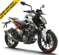 USED 2017 KTM 125 DUKE 17 ***WHITE ONLY***NOW SOLD OUT***