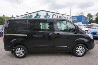 2014 FORD TRANSIT CUSTOM 290 2.2 TDCI 125 SWB LIMITED CREW CAB ( NO VAT !! ) £16489.00
