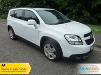 USED 2012 12 CHEVROLET ORLANDO 2.0 LTZ VCDI 5d AUTO 163 BHP Fantastic top of the range Automatic Orlando with Seven Seats, Automatic Gearbox, Satellite Navigation, Full Leather, Climate Control, Cruise Control, Alloy Wheels and Service History