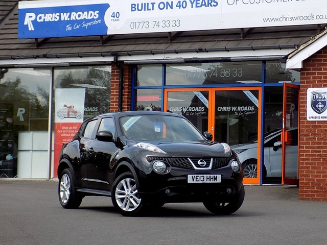 USED 2013 13 NISSAN JUKE 1.6 ACENTA 5dr ** Bluetooth + Cruise + F/S/H ++