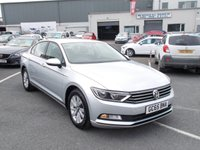 2016 VOLKSWAGEN PASSAT 1.6 S TDI BLUEMOTION TECHNOLOGY 4d 119 BHP £SOLD