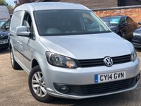 2014 VOLKSWAGEN CADDY MAXI 1.6 C20 TDI HIGHLINE BMT  £5900.00