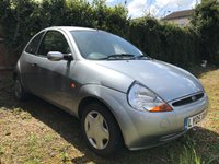 2005 FORD KA 1.3 COLLECTION 3d 69 BHP SELLING WITH MOT UNTIL 27/05/2018 £250.00