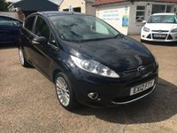USED 2012 12 FORD FIESTA 1.4 TITANIUM TDCI 5d 69 BHP CRUISE CONTROL / VOICE COMM / BLUETOOTH / USB  LOW MILEAGE / EXCELLENT HISTORY X 7 STAMPS