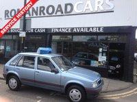 1991 VAUXHALL NOVA 1.2 MERIT 5d 55 BHP £3995.00