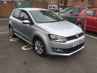 USED 2013 VOLKSWAGEN POLO 1.2 MATCH EDITION TDI 5d 74 BHP CHEAP TO RUN LIMITED EDITION POLO WITH AN EXCELLENT SPECIFICATION! SPEC INCLUDES CRUISE CONTROL, ALLOY WHEELS, AIR CONDITIIONING ,AUXILLIARY/USB AND MEDIA! FULL SERVICE HISTORY AND ONLY 9182 MILES!!